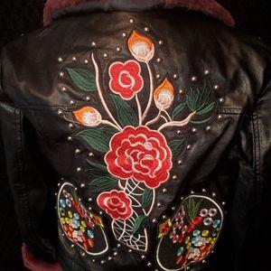 NWT Vegan jacket